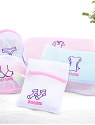 Zippered Mesh Laundry Wash Bags Foldable Delicates Lingerie Bra Socks Underwear WashingMachine Clothes Protection Net
