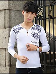 das männliche Taxi dicke Samt mit langen Ärmeln T-Shirt Männer&# 39; s Oberbekleidung Winterkleidung Shirt kleinen T-Shirt dünne warme