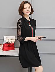 знак # 2017 новый жира мм пружинный удобрения для увеличения женщин размер жира сестра была тонкая кружева-линии платье