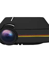YG400 Projector Home High-Definition Mini Led Micro Projector-White