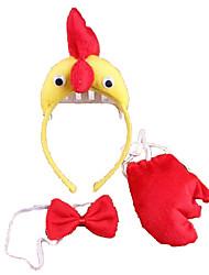 Material para Cabeça Galinha Diversão Ao Ar Livre & Esportes Dia da Criança Ano Novo Natal 3