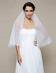 Wedding Veil One-tier Elbow Veils Pencil Edge Net