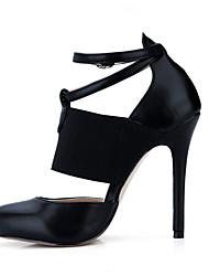 MujerConfort-Tacones-Oficina y Trabajo Vestido Informal-PU-Negro