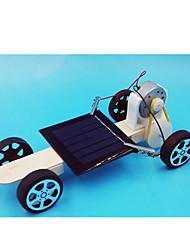 Brinquedos Para meninos Brinquedos de Descoberta Brinquedos a Energia Solar Carro Metal Plástico Branco