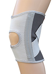 Unisex Knee Brace Protective Football Sports Elastane White