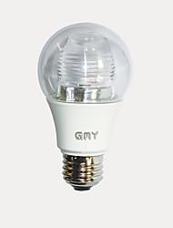 7W E26 LED Globe Bulbs A19 1 COB 500 lm Warm White AC 110-130 V Energy Star 1 pcs