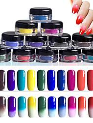 12pcs Manucure Dé oration strass Perles Maquillage cosmétique Nail Art Design