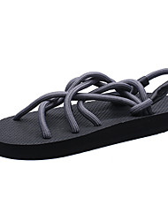 Men's Fashion Knitting Sandals Summer is The Most Cool Fashion Slippers Male Personality