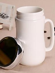 Clássico Artigos para Bebida, 400 ml Simples padrão geométrico Cerâmica chá Café Copos