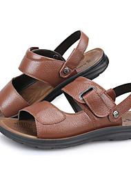 sandales printemps confort automne vachette bureau en plein air d'été&partie de carrière&soir occasionnels chaussures marron en