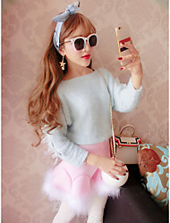 Model real shot ~ Japanese soft sister cute bow tie sweet lady princess shirt sweater wild