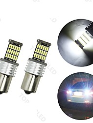 4x 1156 P21W RV Camper LED Interior Light Bulb BA15s White 45 4014 SMD  12V-24V