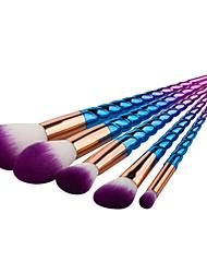 5 Oogschaduwkwast Lippenkwast Wenkbrauwkwast Concealerkwast Poederkwast Foundationkwast Contour Brush Brush Sets BlushkwastSynthetisch