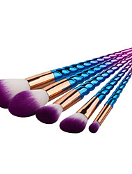 5 Contour Brush Makeup Brush Set Blush Brush Eyeshadow Brush Lip Brush Brow Brush Concealer Brush Powder Brush Foundation BrushSynthetic