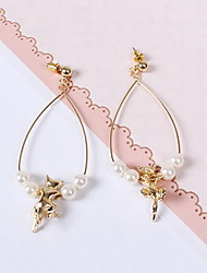 Earrings Set Imitation Pearl Pearl Imitation Pearl Alloy Drop Gold Jewelry Daily Casual 1 pair