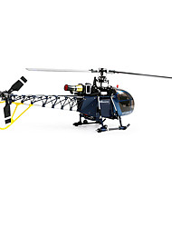Walkera 4F200LM 2.4G 3D RC Helicopter w/o transmitter Blue RC Helicopter Track Shipping