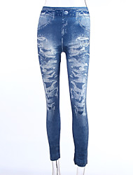 Women's Trendy Denim Leggings