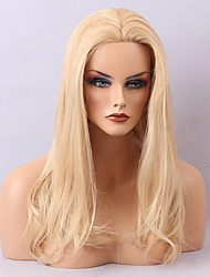 Special Offer Human Hair Lace Front Wigs Long Blonde Natural Wavy Hairstyle For White Woman 2017