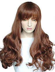 Top Quality Deep Wave Synthetic Fiber Wig Capless Women Party Wig Heat Resistant Wig