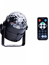 U'King® RGB 3x LEDs Magic Ball Stage Lighting for Car Decoration Ballroom KTV PARTY Home Decorative