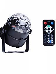 u'king® rgb 3x leds de iluminación de escenarios bola mágica para la decoración del coche salón de baile del partido KTV hogar decorativos
