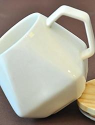 Minimalismo Artigos para Bebida, 200 ml Simples padrão geométrico Cerâmica Café Leite Copos
