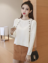 Sign 2016 Korean version of the new winter sweater loose sweater + A word skirt suit
