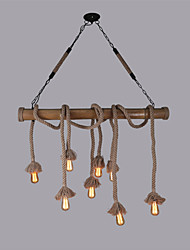 Pendant Light ,  Rustic/Lodge Vintage Retro Others Feature for Mini Style Wood/Bamboo Living Room Dining Room Kitchen Game Room Hallway