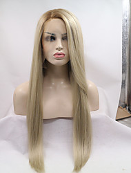2017 Sylvia Synthetic Lace Front Wig Mix Blonde Heat Resistant Free Wig Net  Synthetic Wigs