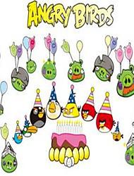 Cartoon Angry Bird Luminous Wall Stickers Vinyl Material Kid's Room Decoration