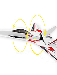 Glider RC 6CH 2.4G RC Airplane Red Some Assembly Required Remote Controller/Transmmitter User Manual Aircraft