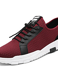 New Men Sneakers As Shown In The Picture Comfort Microfibre Outdoor Athletic Casual Lace-up Black Blue Red Walking Shoes
