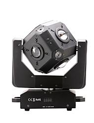 cube u'king® 100w 12 * 10w 4 en 1 RGBW CREE LED déplaçant la tête rotation 1pcs de lumière à effet de scène
