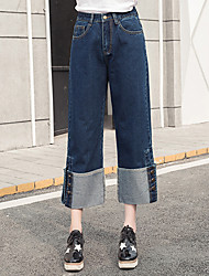 Women's Plus Size Harem Chinos Business Slim ThinTrousers Casual/Daily Work Simple Solid High Rise Elasticity Stretchy Spring Summer
