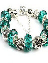 Chain Bracelet Crystal Crystal Natural Jewelry Blue Jewelry 1pc