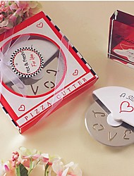 A Slice of Love Stainless Steel Pizza Cutter in Miniature Pizza Box Beter Gifts® Life Style