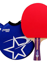1 звезда Настольный теннис Ракетки Резина Короткая рукоятка Прыщи В помещении Активный отдых