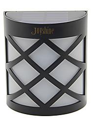 joyshine n763d 5050 smd led solaire lampe cour murale colorée