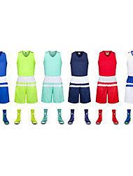 Kid's Soccer Clothing Suits Breathable Sweat-wicking Comfortable Spring Summer Winter Fall/Autumn Patchwork PolyesterLeisure Sports