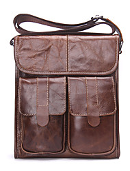 Contacts Genuine Leather Men Messenger Crossbody Shoulder Bag Travel Pad Bag Men Cowhide Casual Outdoor