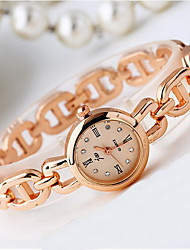 Mulheres Relógio de Moda Quartzo / Lega Banda Legal Casual Ouro Rose Ouro Rose