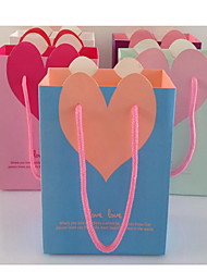 sac cadeau sac de cadeau du jour de valentine vertical du jardin secret de sacs en papier originaux cosmétiques sac cb15-03 un pack de