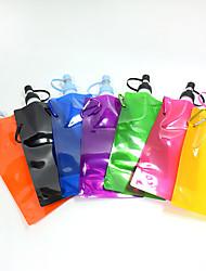 Chat Chien Bols & Bouteilles d'eau Animaux de Compagnie Bols & alimentation Portable Pliable Rouge Noir Vert Bleu Jaune Pourpre Orange