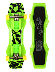 Mini Skateboards & Bikes Leisure Hobby Skate ABS Plastic Green For Boys For Girls