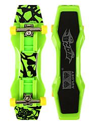 Mini Skateboards & Bikes Leisure Hobby Skate ABS Plastic Green For Boys For Girls