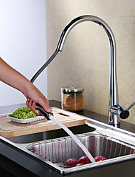 Pull-out Kitchen Faucet Standard Spout Centerset Thermostatic Rain Shower Pullout Spray Basin Sink Faucet Mixer