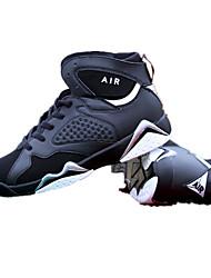 Extérieure-Violet Noir et blanc Noir rouge-Talon Plat-Confort-Chaussures d'Athlétisme-Microfibre
