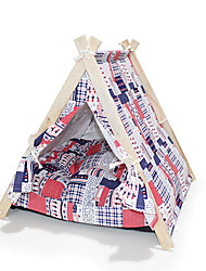 Multicolor Pet Tent Folding