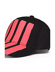 Unisex Cotton Red Stripe Offset Printing Baseball cap Baseball Cap Hip Hop Sun Hats