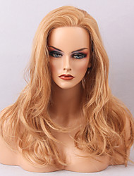2017 Women's Wigs Beautiful Natural Looking Blonde Hairstyle Human Hair Lace Front Wig